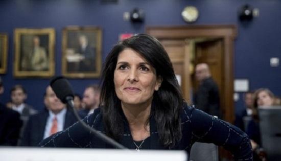 US Ambassador to the UN Nikki Haley (Yonhap)