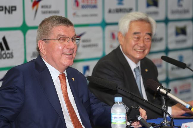 South Korea to discuss joint Korean teams, says IOC President Thomas Bach