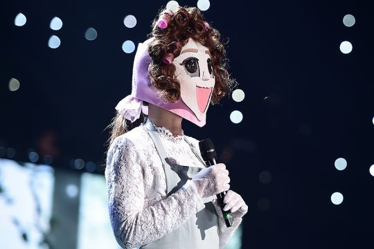 """Singer Sohyang performs during MBC's music competition show """"King of Masked Singer."""" (MBC)"""