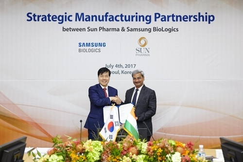 Sun Pharma enters into $55.5-mn deal with Samsung BioLogics