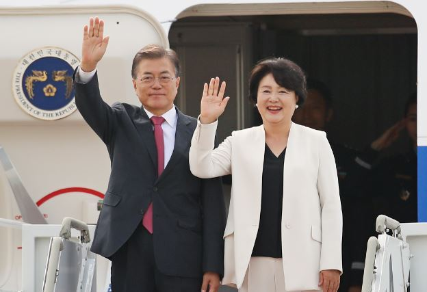 Korean leader urges int'l support for people of N. Korea
