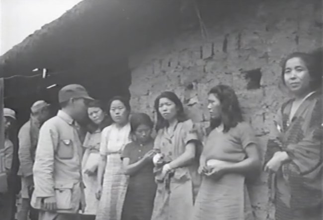 Screen capture of a video released by the Seoul National University Human Rights Centers shows former Korean sex slaves in Songshan, China, who are believed to have been coerced into sex slavery during the war in which Korea was under colonial rule by Japan. (The Seoul National University Human Rights Center)