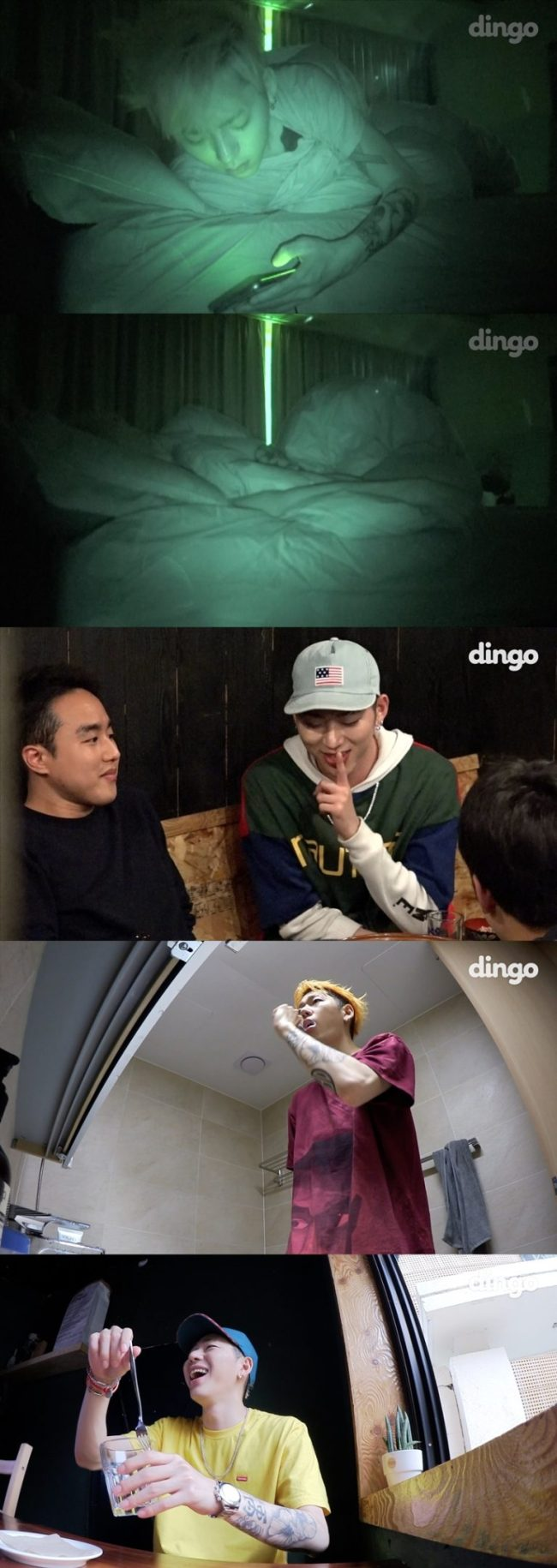 """Last Thursday's episode of web series """"Hack Zico"""" features rapper Zico and his daily life. (MakeUs)"""
