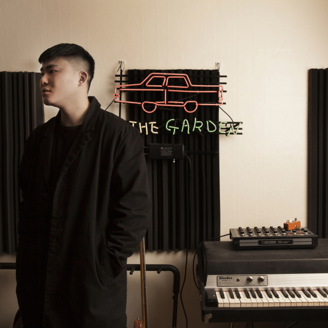 Car, the garden (Drdr AMC)