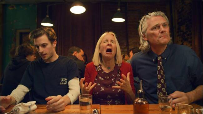 """(From left) Director Peter Vack stars in """"A--holes"""" with his parents, Jane and Ron Brown. (BIFAN)"""
