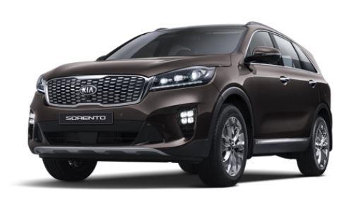 Kia Motors` face-lifted Sorento SUV (Photo courtesy of Kia Motors) (Yonhap)