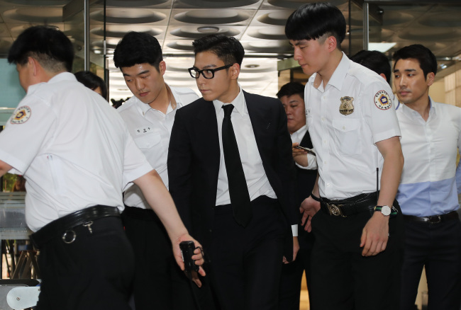 TOP Given Suspended Sentence for Smoking Marijuana