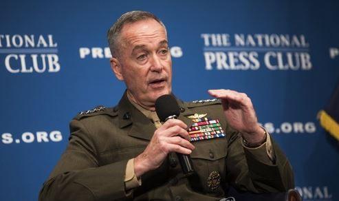 US Joint Chiefs of Staff Chairman Joe Dunford (EPA-Yonhap)