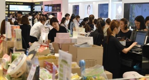 Department stores see sales to Chinese drop amid THAAD row
