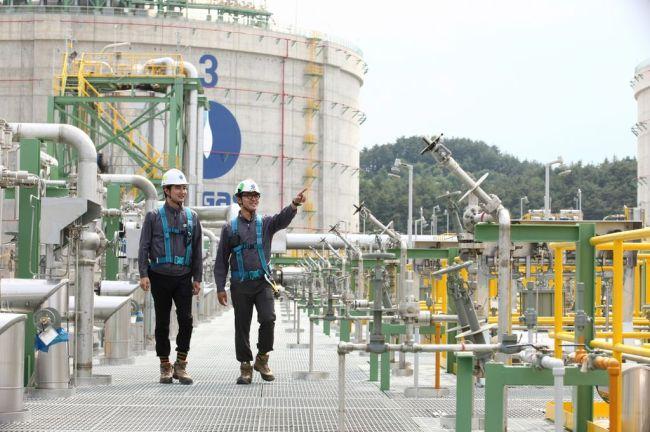 A Kogas gas supply facility in Busan (Kogas)