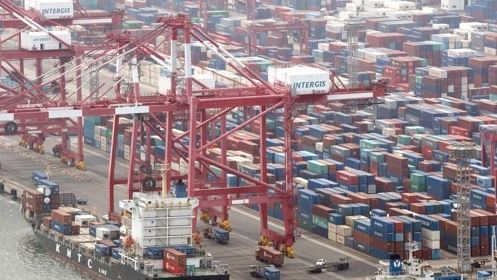 Korea's exports keep upward trend