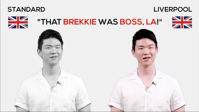 "A screengrab of a YouTube video titled ""Liverpool Dialect Words"" (Kong Seong-Jae)"