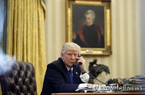 Trump Calls for International Toughness, Decisiveness on North Korea