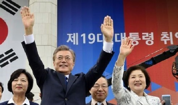 South Korea's President Says 'There Won't Be Another War'