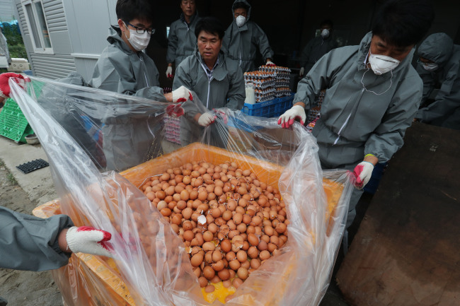 Koreans react to pesticide-tainted eggs