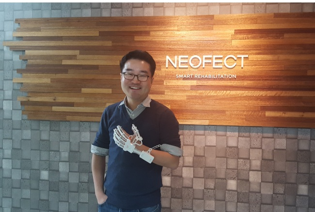 Neofect CEO and co-founder Ban Ho-young (Courtesy of Neofect)