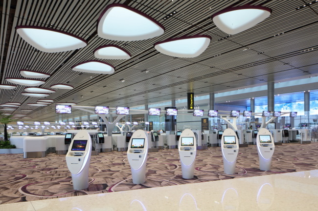 FAST technology at Terminal 4 (Changi Airport Group)