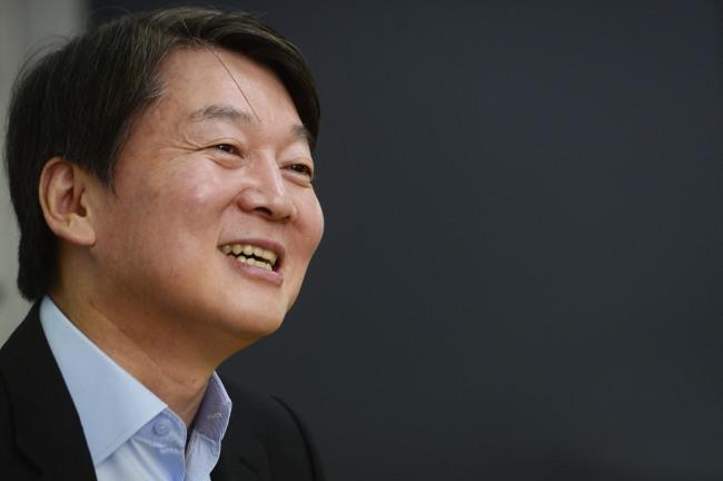 Ahn Cheol-soo (Park Hae-mook/The Korea Herald)