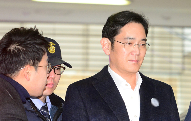Samsung heir jailed five years