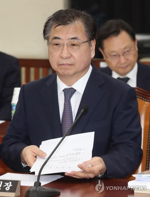 NIS director Suh Hoon