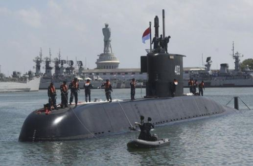 Korean-made submarine delivered to Indonesia