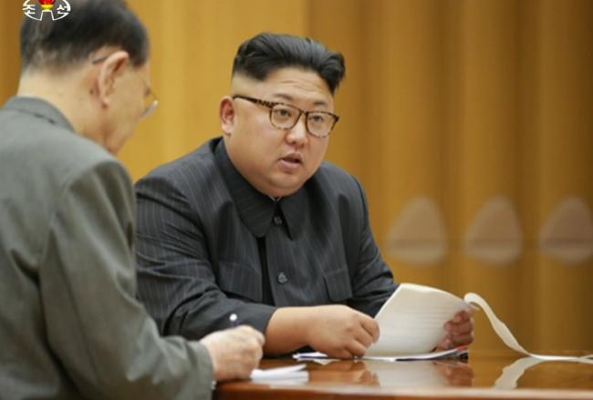 Kim Jong-un (KCNA-Yonhap)
