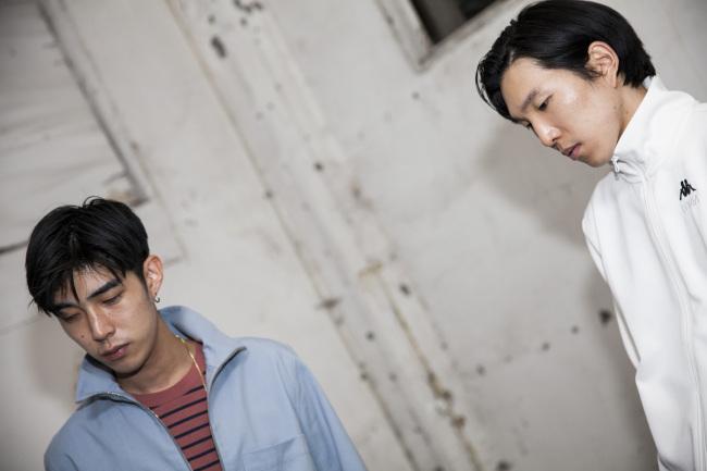(From left) Kim June-one and Kang Hyuk-jun of music producing duo Glen Check (Beasts and Natives)