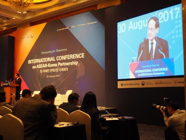 ASEAN Secretary-General Le Luong Minh (ASEAN-Korea Center)
