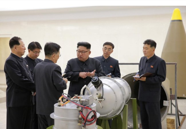 North Korea: Sixth Nuclear Test Was an H-Bomb for ICBM
