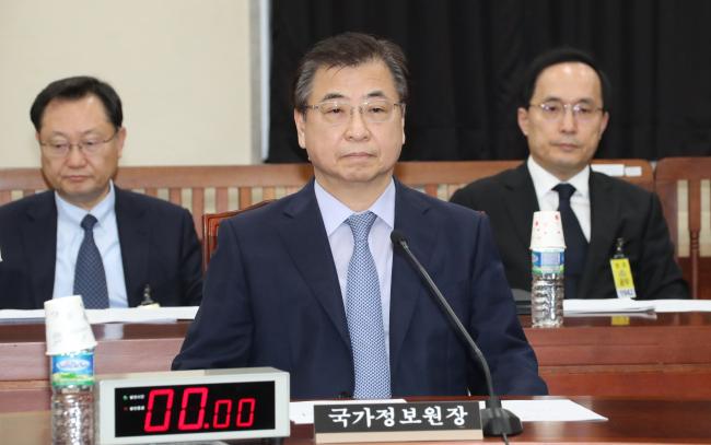National Intelligence Service Director Suh Hoon (Yonhap)