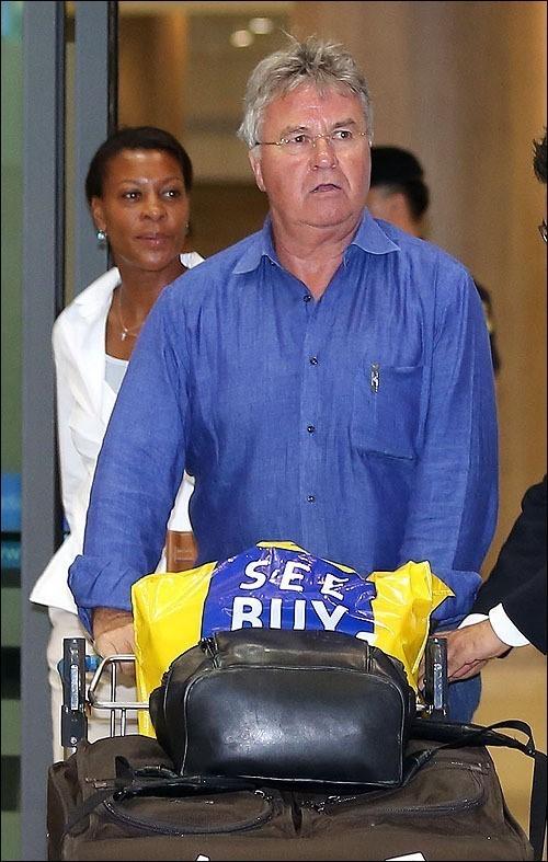 Former coach Guus Hiddink (Yonhap)