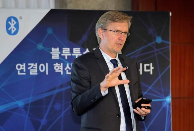 Ken Kolderup, vice president of Bluetooth SIG (Bluetooth SIG)