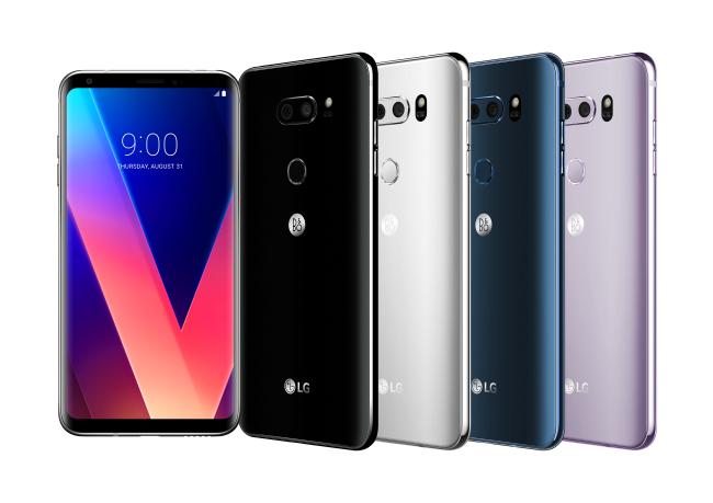 LG V30 smartphones (LG Electronics)