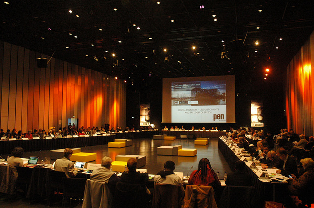 The 82nd PEN International Congress took place in Ourense, Spain last year. (PEN International)