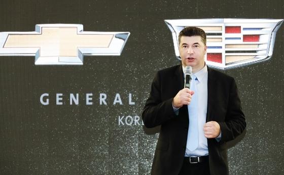 CEO of GM Korea Kaher Kazem (GM Korea)