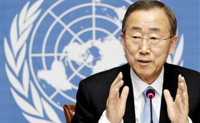 Former UN Secretary-General Ban Ki-moon. (Yonhap)
