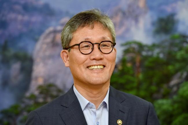 Korea Forest Service Minister Kim Jae-hyun (Korea Forest Service)