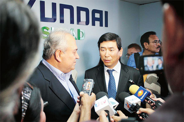 Hyundai appoints new us chief to tackle slumping sales for Lee hyundai motor finance