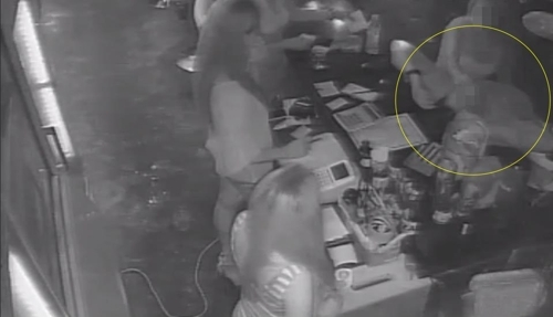 An American tourist was charged 17 million won for his drinks at a bar in Itaewon, Seoul. (Yonhap)