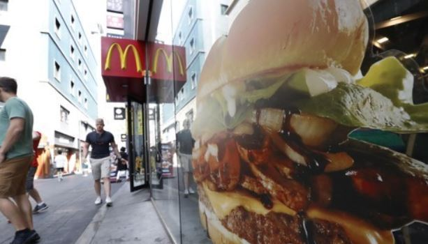 This photo taken Sept. 3, 2017, shows a McDonald`s store in Seoul. (Yonhap)