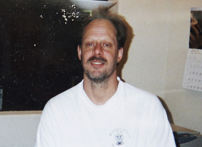 This undated photo provided by Eric Paddock shows his brother, Las Vegas gunman Stephen Paddock. (AP-Yonhap)