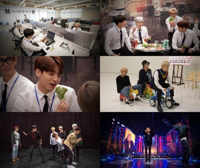 """Boy band BTS stars in Mnet's music show """"BTS Countdown"""" (Mnet)"""