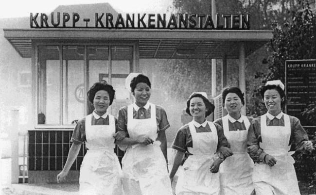 Korean nurses to West Germany (Immigrant Spirit)