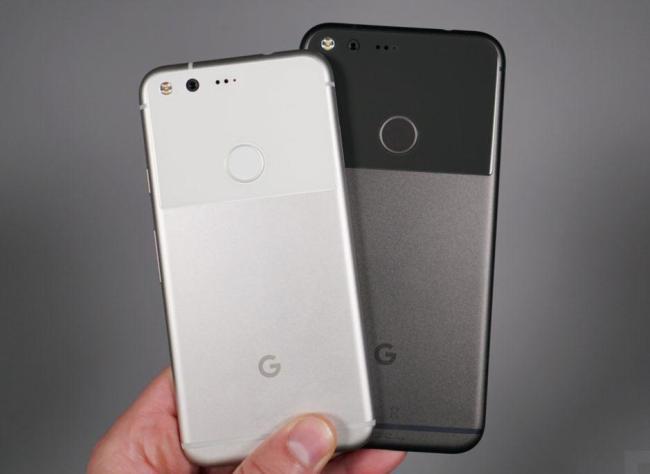 Google's Pixel 2 series smartphones(Yonhap)