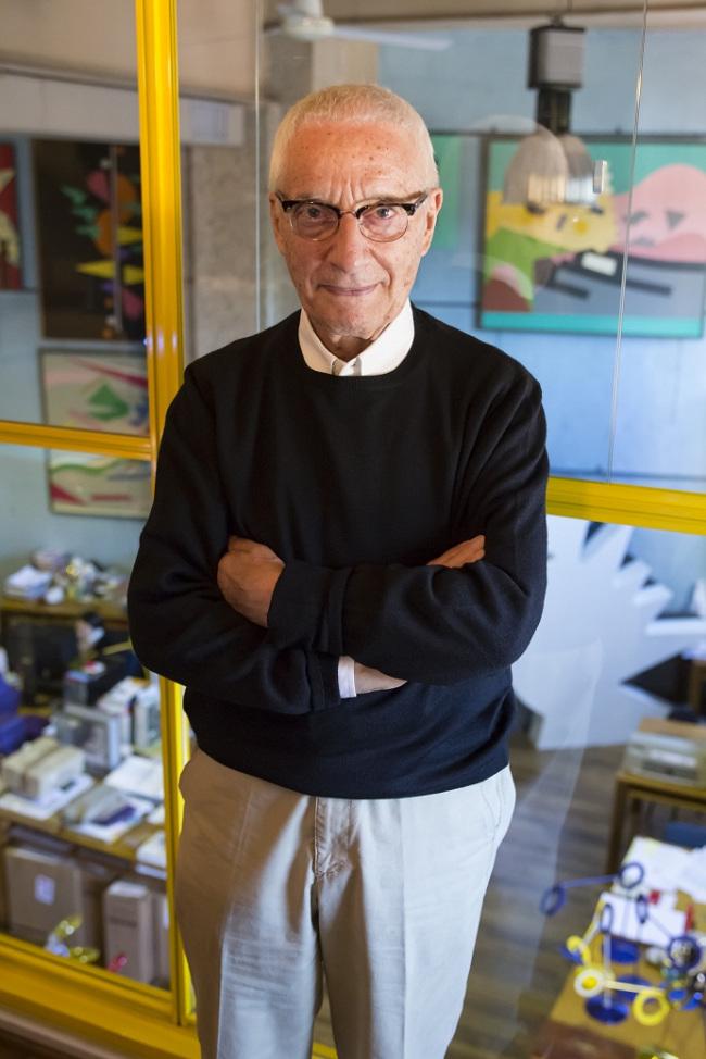 Italian architect, artist and designer Alessandro Mendini (POSCO E&C)