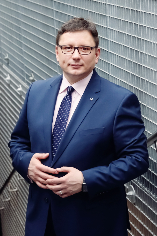Rafal Milczarski, CEO of LOT Polish Airlines (LOT)