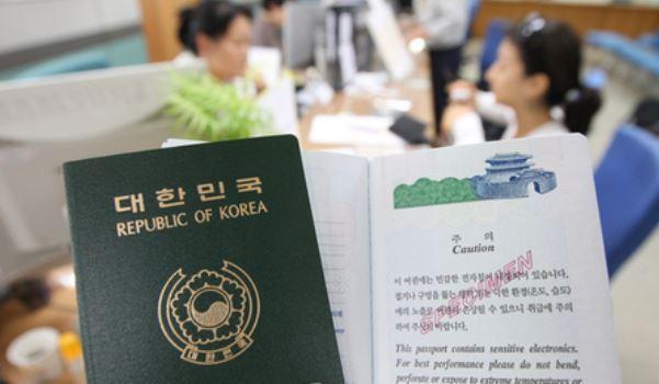 Hasil gambar untuk south korean passport