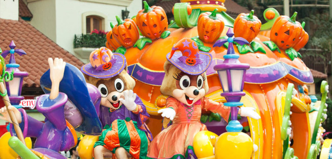 """Lotty's Halloween Party Parade"" at Lotte World Adventure (Lotte World Adventure)"