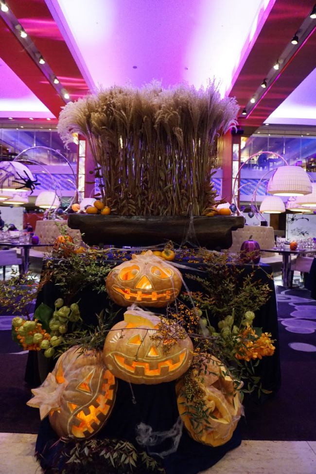 Decorations for Halloween Party at Intercontinental Seoul Coex (Intercontinental Seoul Coex)
