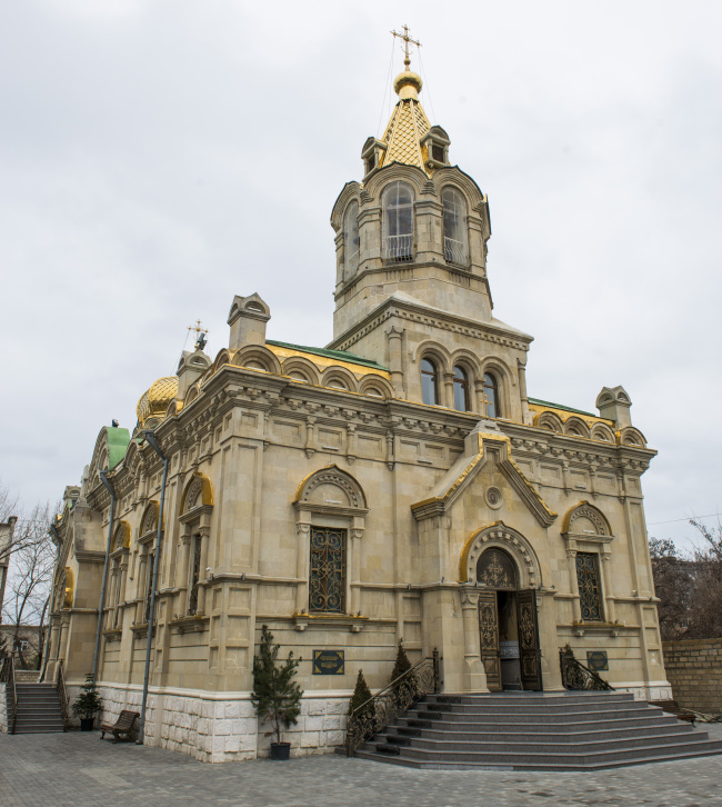 Provoslav Church in Baku (Azerbaijani Embassy)